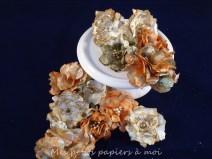 kit fleurs shabby