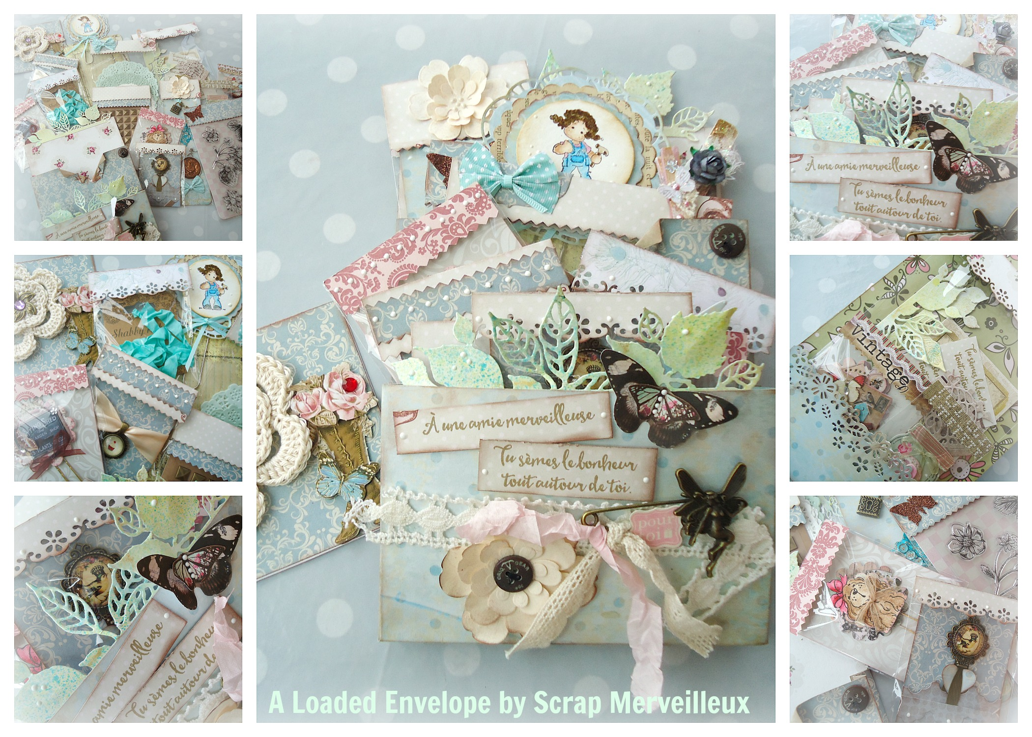 Tuto D Une Loaded Envelope Ou Happy Mail Scrap Merveilleux