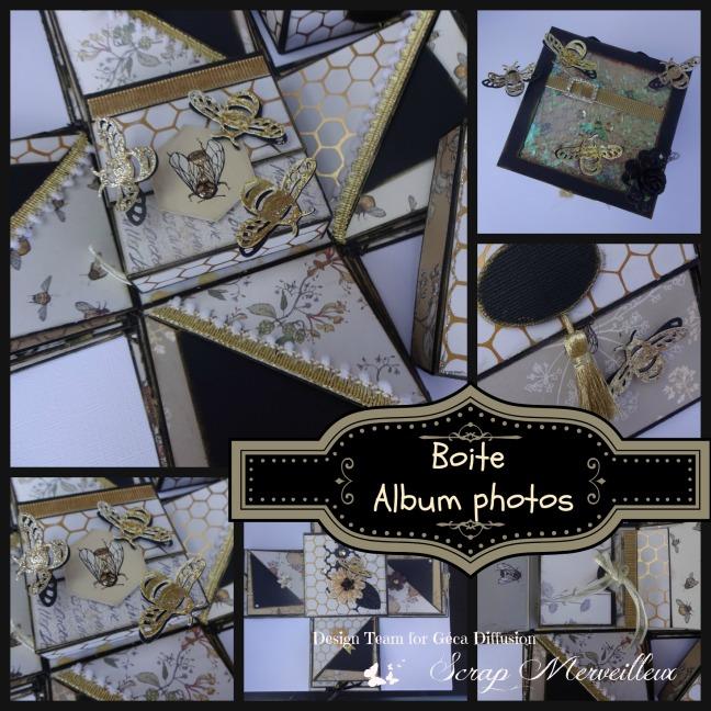 boite album photos
